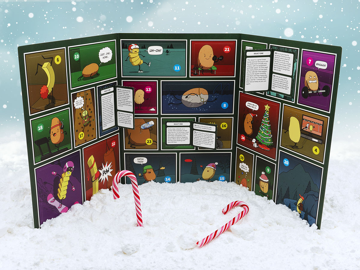 The Advent Calendar for Couch Potatoes - Open