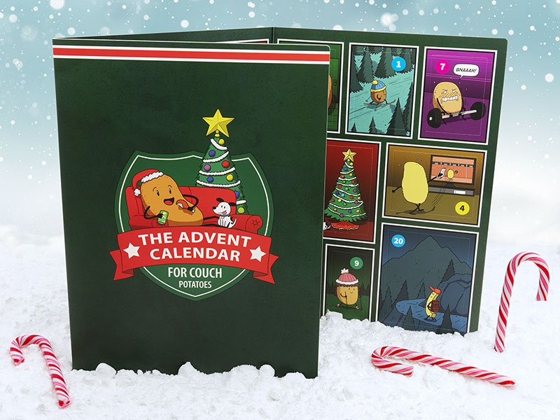 The Advent Calendar for Couch Potatoes - Product Shot
