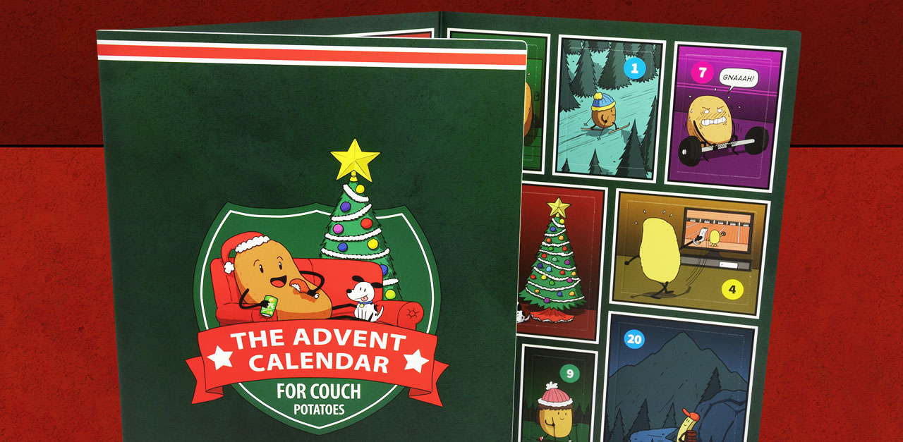 The Advent Calendar for Couch Potatoes