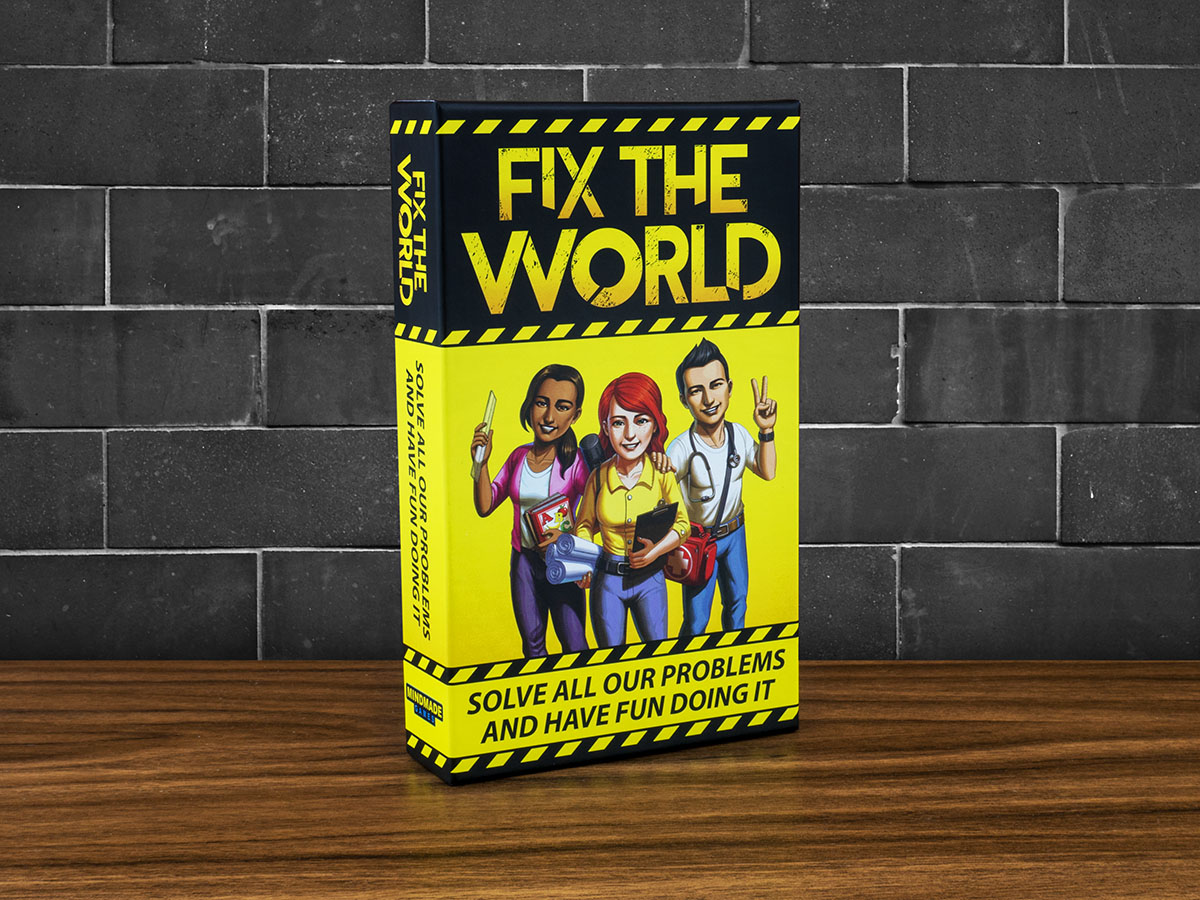 Fix the World - Box Front