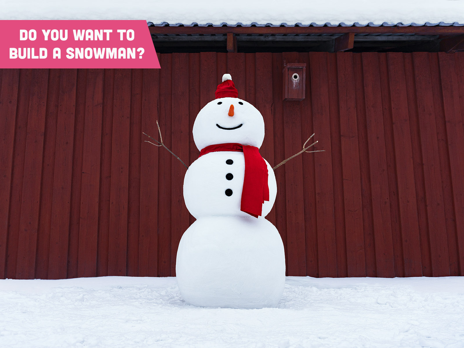 The Snow Sculpture Bag - Snowman